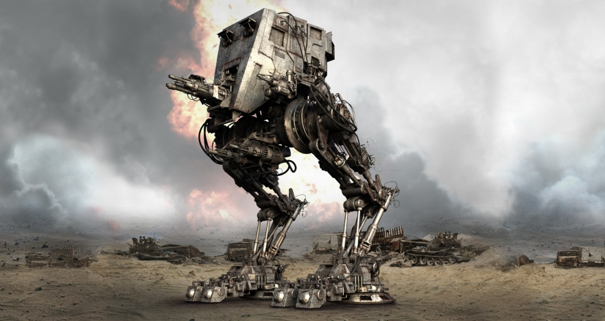 Mech Droid S-245-B is back in town