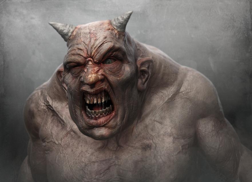 Lowland pink dribble troll